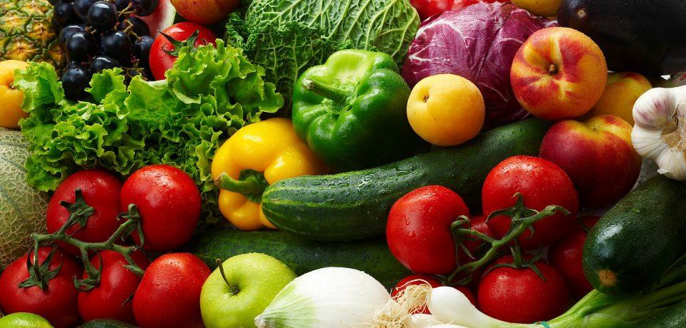 Сколько овощей и фруктов должно быть в рационе
