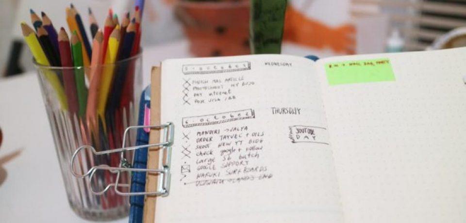 Bullet journal: Идеальный способ вести ежедневник